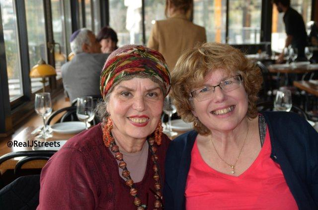 Levana and Eva at Touro Resstaurant
