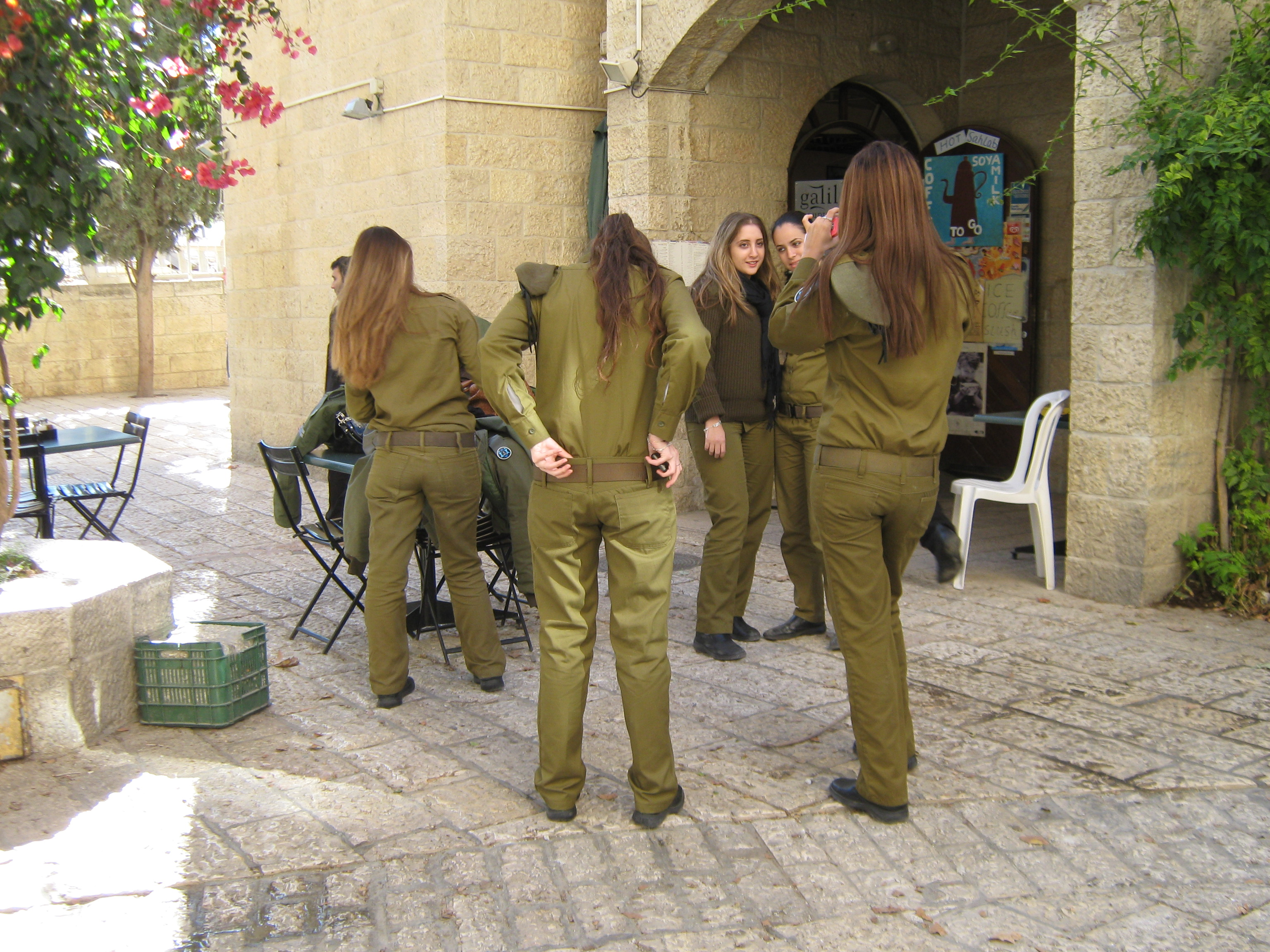IDF women soldiers