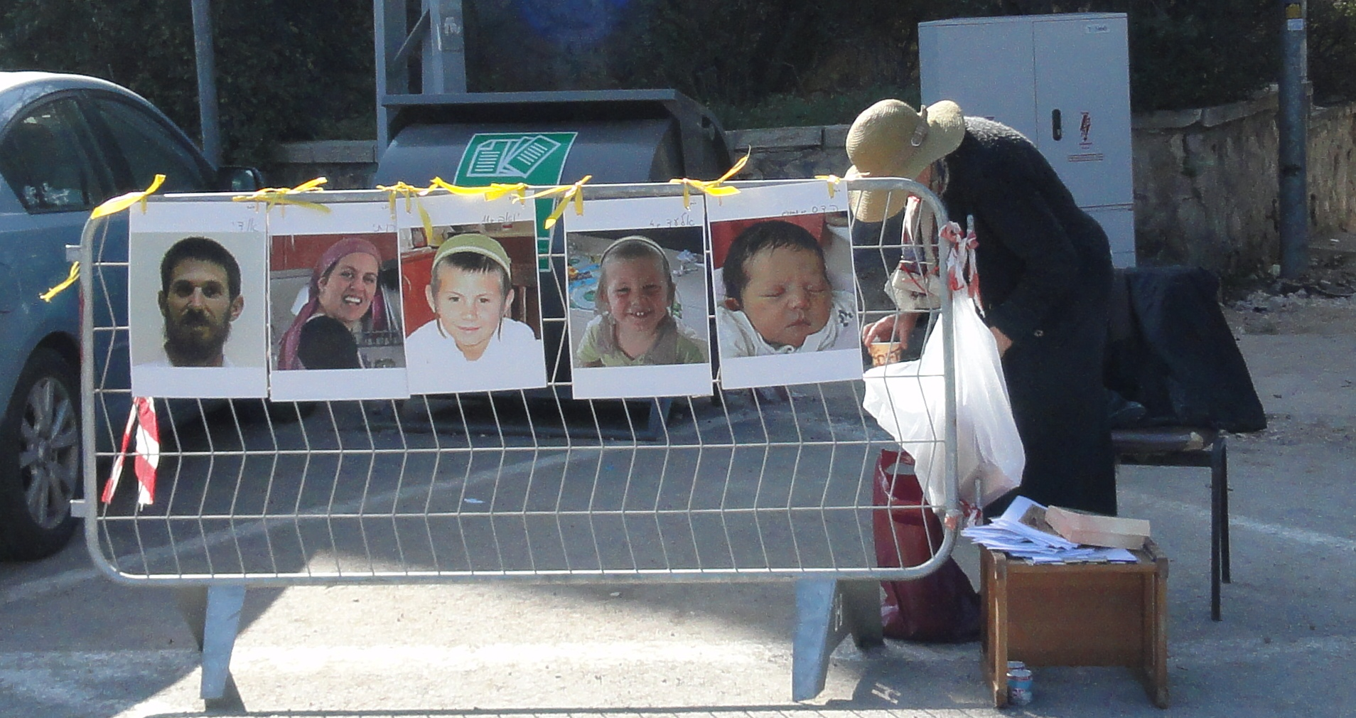 pictures of Fogel family members killed