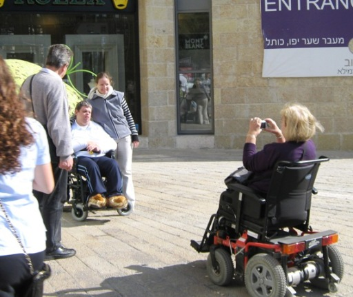 """photo wheelchair"", ""picture tourists in wheel chair"", """