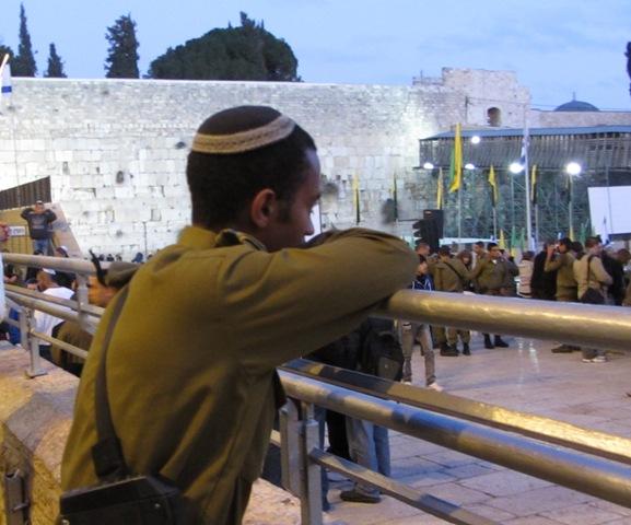 Israeli soldier image, Ethiopian image