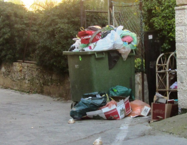 Jerusalem garbage strike