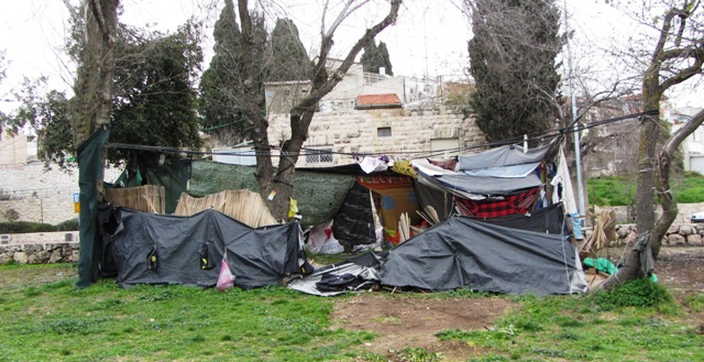 "occupy tent image , ""Jerusalem tent city"""