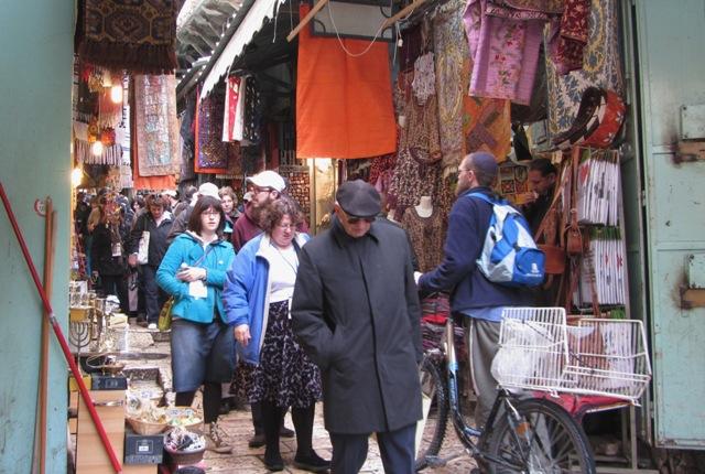 """""""Muslim market"""", """"Jews in Muslim Quarter"""""""