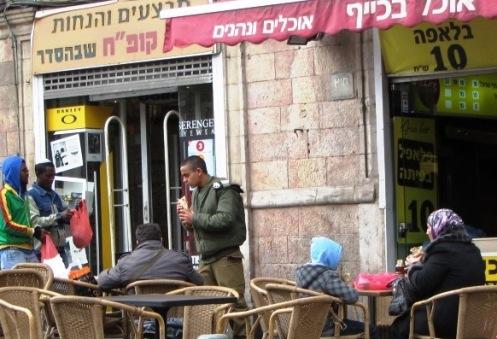"Israeli apartheid, ""Palestian woman"" ""Arab lady'"