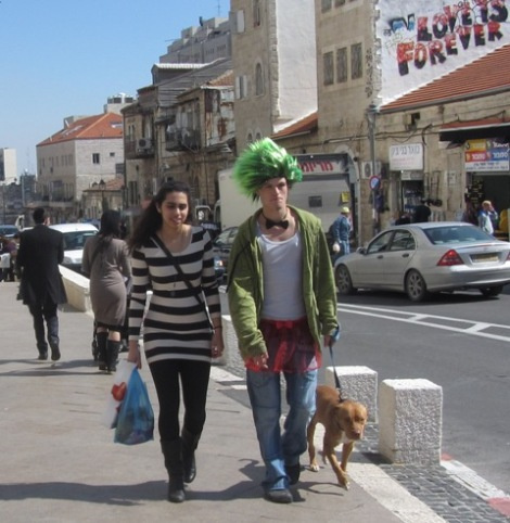 "Image ""green wig"""