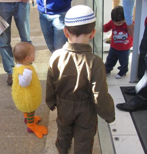 duck, Israeli soldier