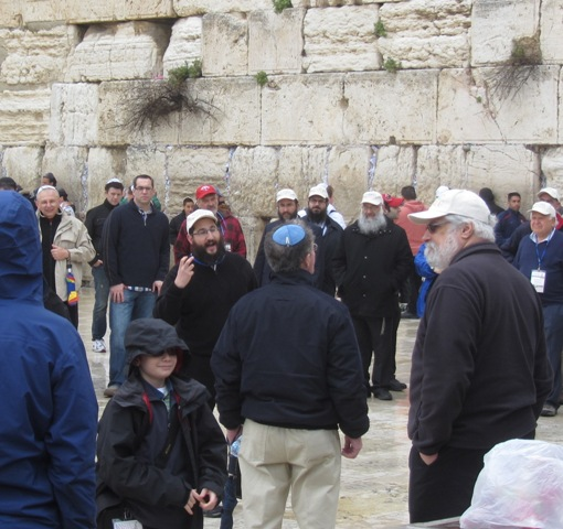"""men at wailing wall"""