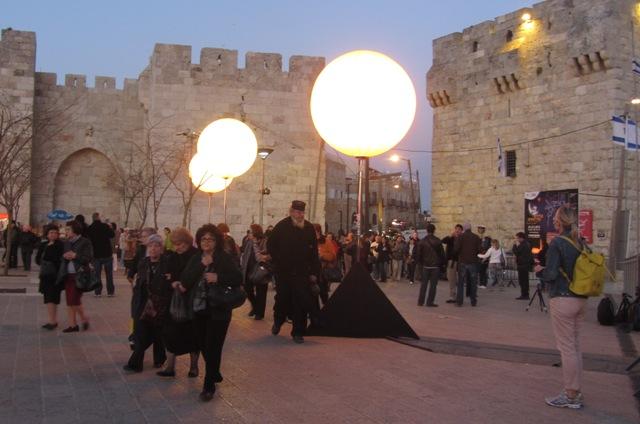 """""""J Street', Image """"Wall of Old City"""", """"photo of Jerusalem"""""""