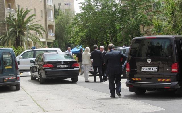 """picture Netanyahy shiva"", ""photo diplomat cars"", ""image J Street"""