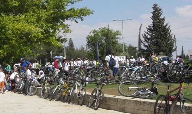 """""""photo bide ride"""",""""image bikes"""" , """"picture Yom Yerushalayim"""""""