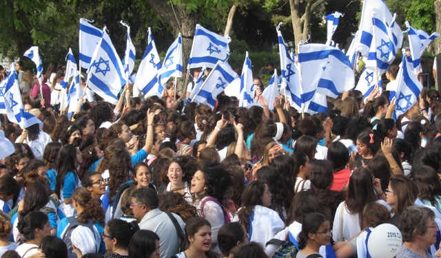 """picture girls dancing"", ""image Jerusalem"",""photo flags"""