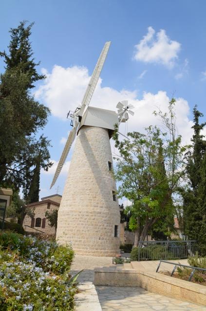 Jerusalem Windmill