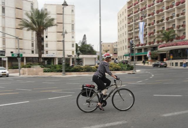 biker, Jerusalem street