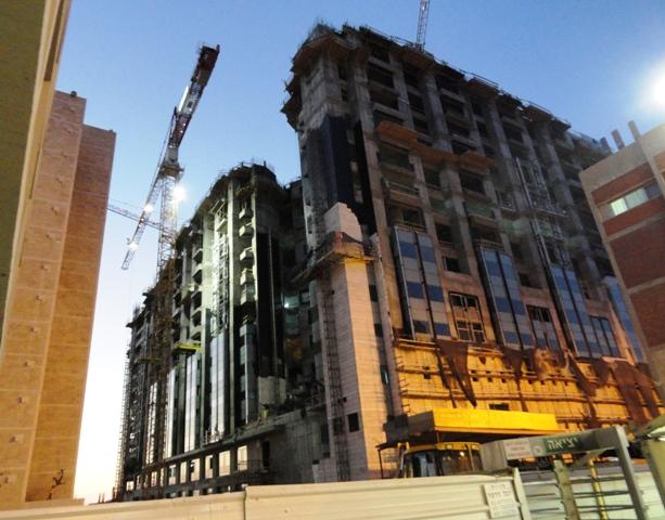 Hadassah construction