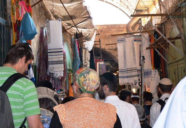 Muslim Shuk. Arab market