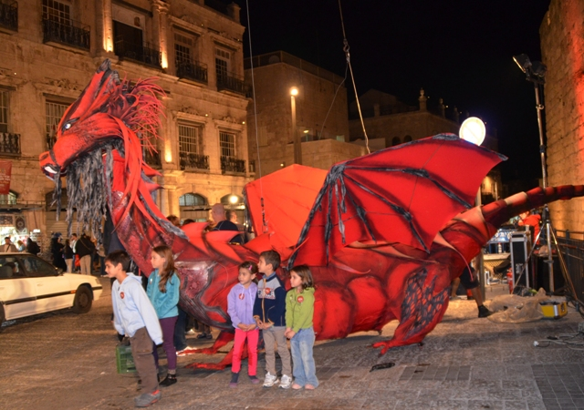 Dragon, Jaffa Gate