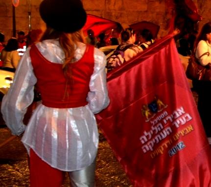 photo Jerusalem festival knights
