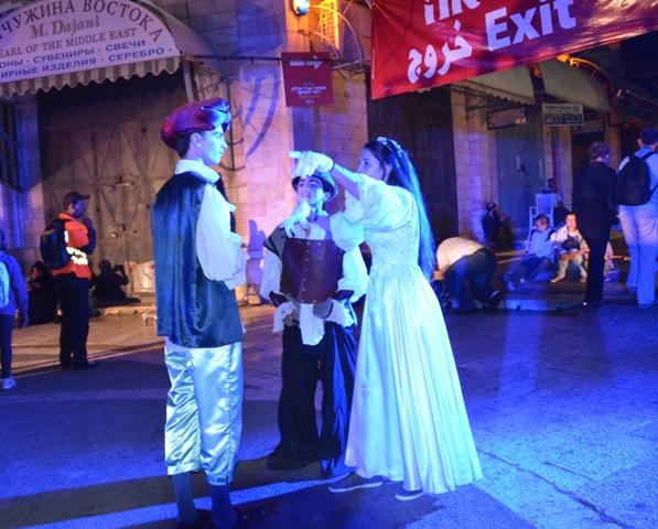 actors in Muristan Square