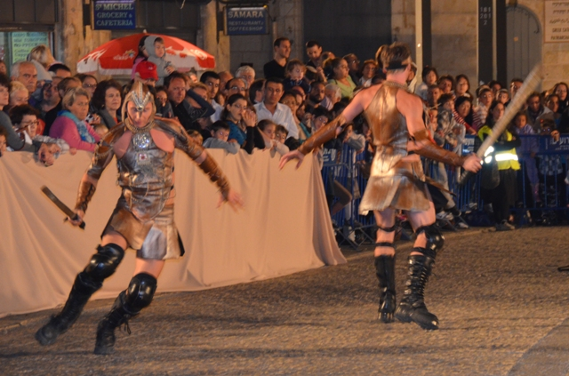 gladiators, Old City , Jaffa Gate