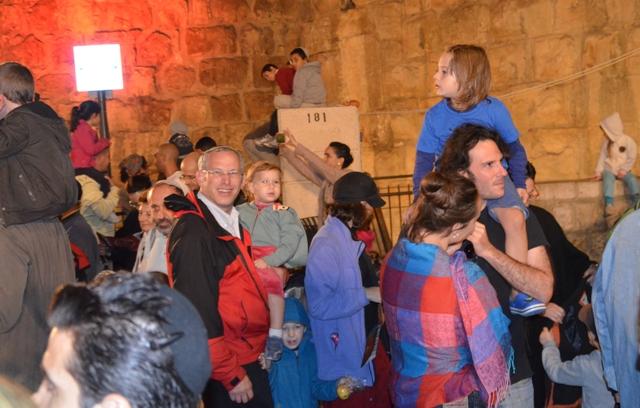 kids at Jerusalem festival, Jaffa Gate