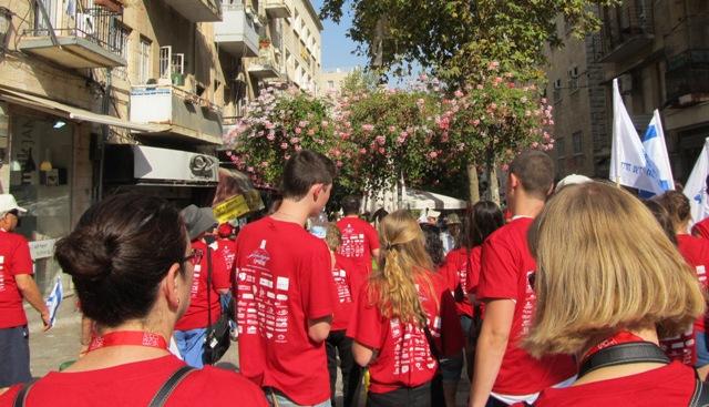 Hadassah red shirts