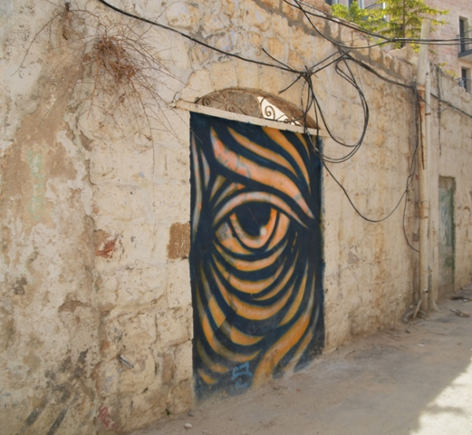 street art, J Street, Nachlaot art