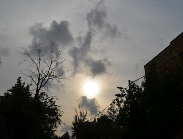 storm clouds,