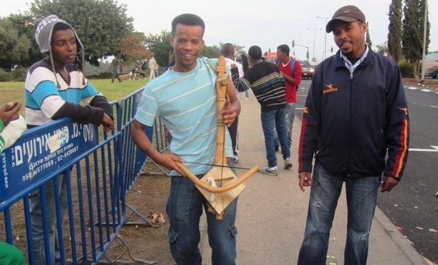Ethioiian instrument, J Streets, RJSTreets, Jerusalem photography