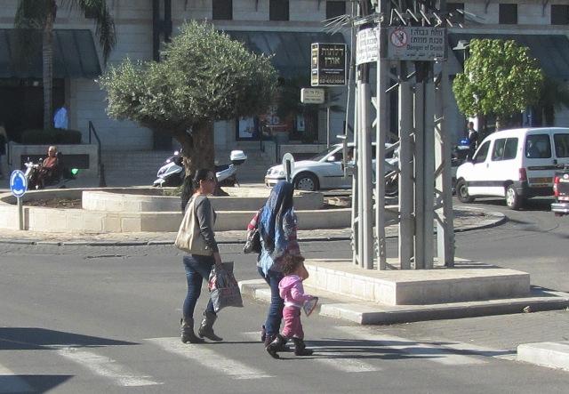 Arab girls, Jerusalem photography