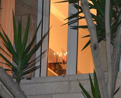 Jerusalem at Hanukkah time
