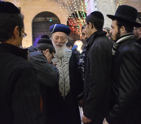 photo Chief rabbi Jerusalem photo