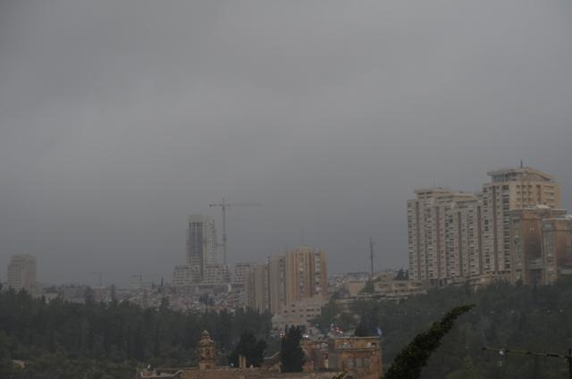 wind in Jerusalem photo