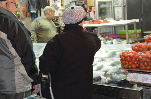 fish store, Jerusalem photo shuk