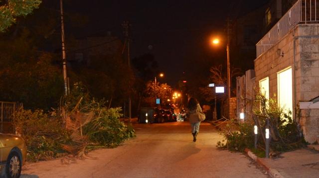 Jerusalem photo at night