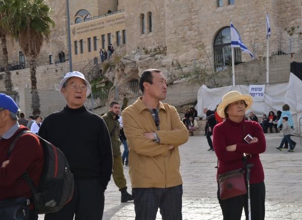 tourists Israel