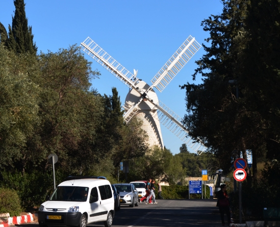 Montefiore windmill photo.