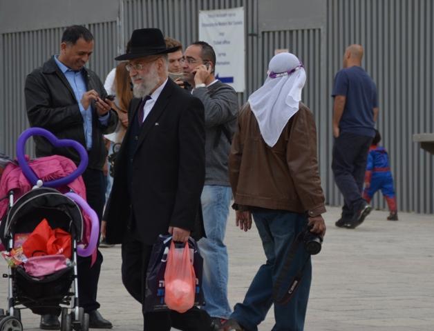 Purim costumes, Jerusalem photo