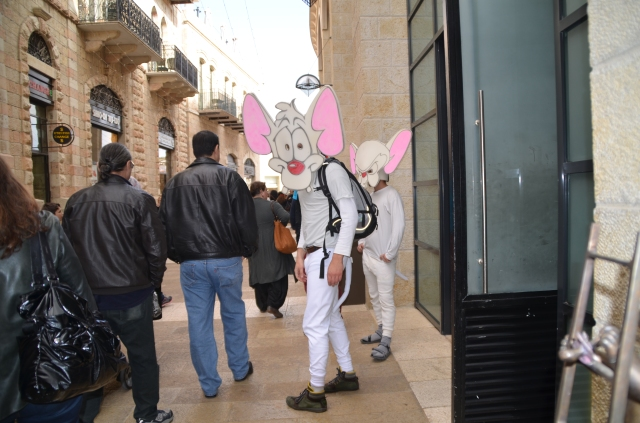 men in costumes, Purim image adults , Jerusalem photos