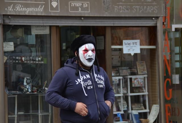 Purim mask photo, Jerusalem images