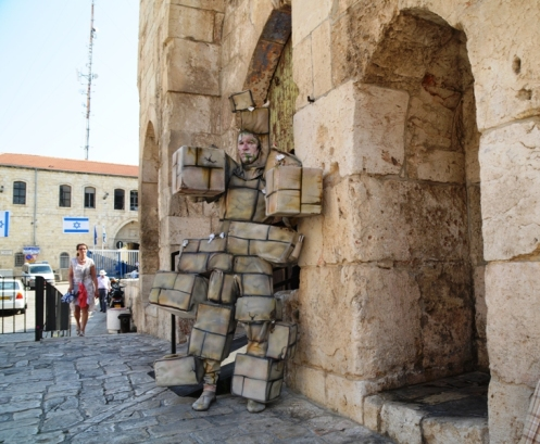 Jerusalem photo, actor dressed