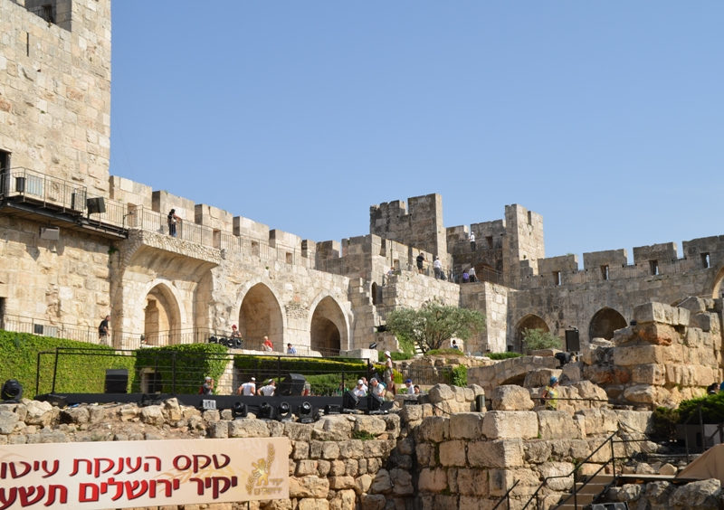 photo inside Tower of David Museum