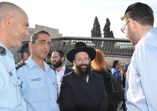 Picture of Rabbi of Wailing WAll