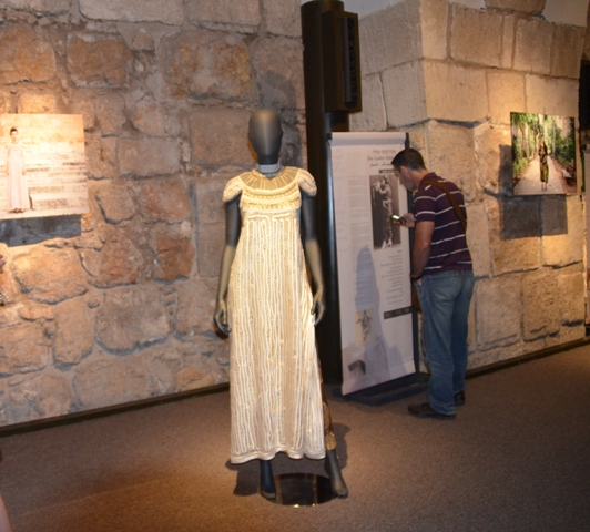 dress at tower of Daivd Thread exhibit