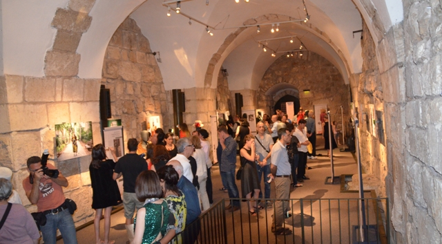 Tower of David Museum Threads exhibit