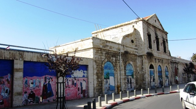 Jerusalem railway station before renovation