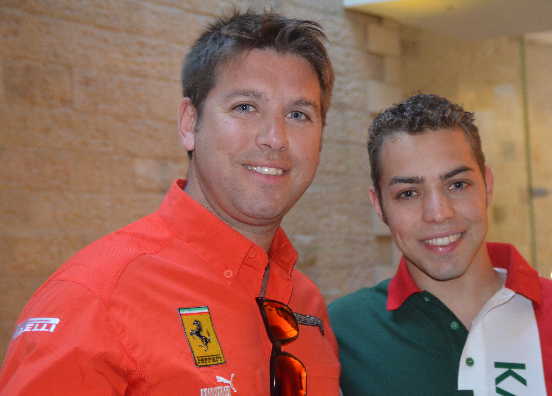 Formula Ferrari drivers