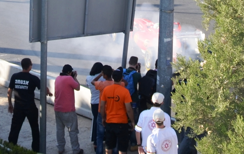 Jerusalem Formula 1 Peace Road Show