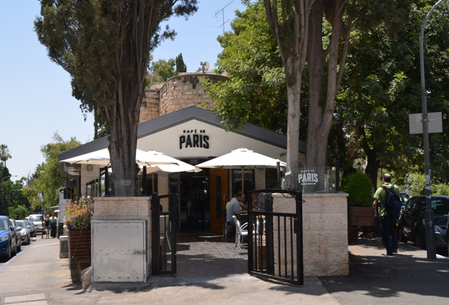 photo cafe in Jerusalem