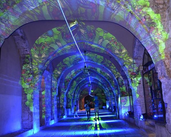 Jerusalem light festival image
